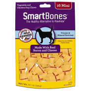 SmartBones Bacon & Cheese MINI 16 pk