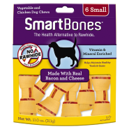 SmartBones Bacon & Cheese SM 6 pk