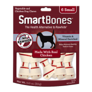 SmartBones Classic Bone Chews Chicken SM 6 pk