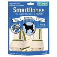 SmartBones Dental Chews Chicken LG 3 pk