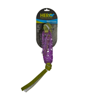 Hero Soft Rubber Treat Cylinder Knotted Streamers 14.5x2""