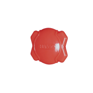Hero Soft Rubber Squeaking Field Disc Red 7""
