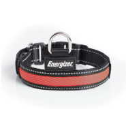 Energizer Dog Blaze USB Collar Large Red