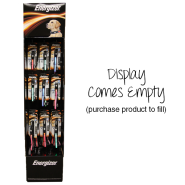 Energizer Collar and Leash Empty Display