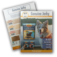 Zukes Genuine Jerky Sell Sheet