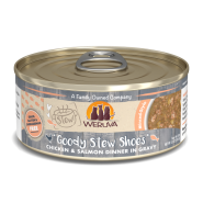 Weruva Cat Stews Goody Stew Shoes Chicken & Salmon 8/5.5 oz