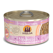 Weruva Cat Stews Stewbacca Chicken Duck & Salmon 12/2.8 oz