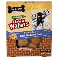 3Dog Classic Wafers Peanut Butter 13 oz