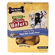 3Dog Classic Wafers Vanilla 13 oz