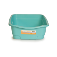 "Cat Open Pan Large 22 x 17 x 6.5"" Blue"