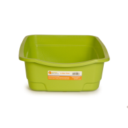 "Cat Open Pan Large 22 x 17 x 6.5"" Green"