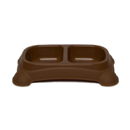 Feeder Bowls Small 1-1/2 Cups Brown