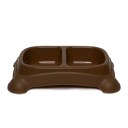 Feeder Bowls Medium 2-3/4 Cups Brown