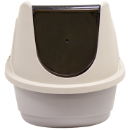 Cat Corner Litter Box w/Hood & Door Lg 23.6 x 19.7 x 17.3""
