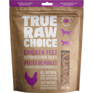 TRC Dog Dehydrated Chicken Feet Treat 200 gm