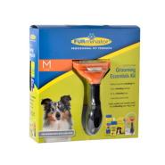 Furminator Med Long Hair Grooming Kit