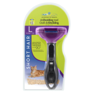 Furminator Short Hair deShedding Tool for Large Cats