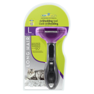 Furminator Long Hair deShedding Tool for Large Cats