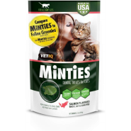 Minties Cat Dental Treats Salmon 2.5 oz