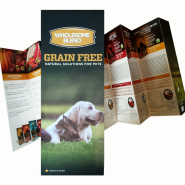 Wholesome Blend Grain Free Brochure