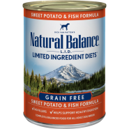 NB LID Dog Fish & Sweet Potato 12/13 oz