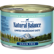 NB LID Dog Chicken & Sweet Potato 12/6 oz