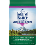NB LID Dog Lamb Meal & Brown Rice Small Breed Bites 4.5 lb
