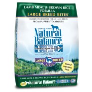 NB LID Dog Lamb Meal & Brown Rice Large Breed Bites 14 lb
