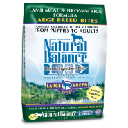 NB LID Dog Lamb Meal & Brown Rice Large Breed Bites 28 lb