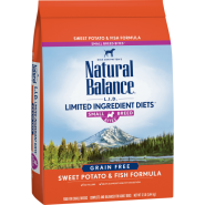 NB LID Dog Sweet Potato & Fish Small Breed Bites 12 lb