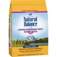 NB LID Dog Potato & Duck Small Breed Bites 12 lb