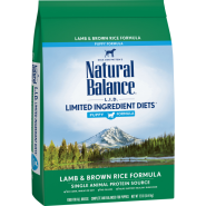 NB LID Dog Lamb & Brown Rice Puppy 12 lb