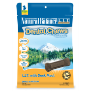 NB LIT Dog Dental Chew with Duck Meal Small Breed 13 oz