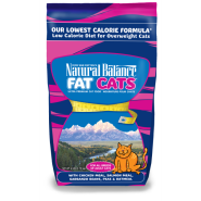 NB Fat Cats Chicken & Salmon Low Calorie Cat 6 lb
