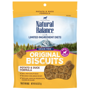 NB LIT Dog Potato & Duck Small Breed Treats 8 oz