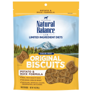 NB LIT Dog Potato & Duck Treats 14 oz