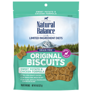 NB LIT Dog Sweet Potato&Chicken Small Breed Treats 8 oz