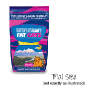 NB Fat Cats Chicken & Salmon Low Calorie Cat Trial 25/2 oz