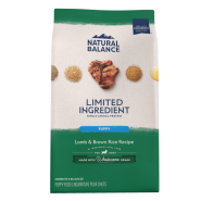 NB LID Dog Lamb & Brown Rice Puppy 24 lb