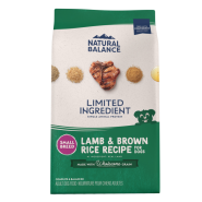 NB LID Dog Lamb & Brown Rice Small Breed 12 lb