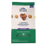 NB LID Dog Lamb & Brown Rice Large Breed 12 lb