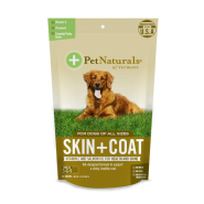 Pet Naturals Skin + Coat Chew for Dogs 30 ct
