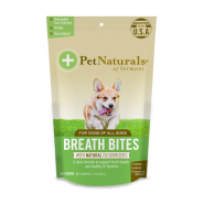 Pet Naturals Breath Bites for Dogs 60 ct
