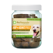 Pet Naturals Hip + Joint Pro Chew for Dogs 50 ct jar