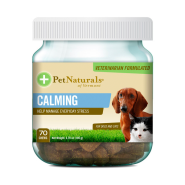 Pet Naturals Calming Chews for Dogs & Cats 70 ct jar