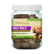 Pet Naturals Daily Multi Chews for Dogs 50 ct jar
