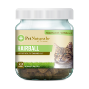 Pet Naturals Hairball Chews for Cats 70 ct jar
