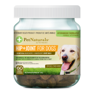 Pet Naturals Dog Hip + Joint Chews 60 ct
