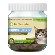 Pet Naturals Calming Chews for Cats 80 ct Jar