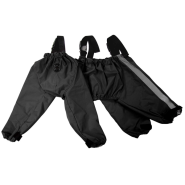 Foufou Dog Bodyguard Protective All-Weather Pants Blk SM
